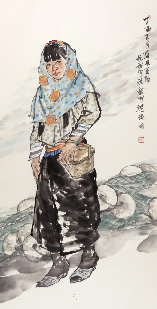 杨旭智1 138×70cm惠女风情.jpg